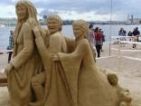 Фестиваль песчаных скульптур 2011: «Шедевры мировой скульптуры»