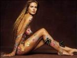 Боди-арт: искусство украшения тела. Часть первая