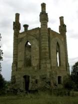 Замок в селе Новомалин (Острожский район Ровненской области)