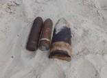 На территории заповедника «Ольвия» обнаружены три артиллерийских снаряда времен войны